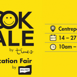 Times Bookstores: The Book Sale and Education Fair at Centrepoint Atrium with Up to 70% OFF