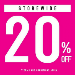 Sasa: Enjoy 20% OFF Storewide This Weekend At All Stores!