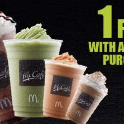 McDonald's: Enjoy 1-for-1 Frappé from McCafé This Week!
