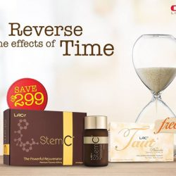 [GNC Live Well Singapore] Reverse the effects of time with LAC StemC®, a powerful rejuvenator derived from premium thoroughbred horse placenta to boost cellular