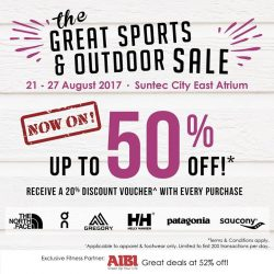 [LIV ACTIV] The Great Sports & Outdoor Sale is NOW ON!