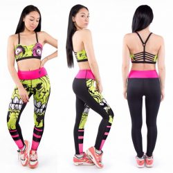 [Iron Fist Clothing] Just Added Dealz Zombie Chomper Athletic Leggings