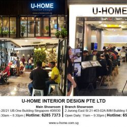 [U-HOME INTERIOR DESIGN] Sharing to you our latest collection of recent completed project home design at 3-bedded Condominium flat at Glendale Park!