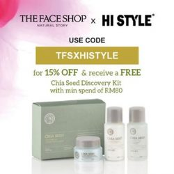 [HI STYLE] Good News,Exclusive for HISTYLE fansUse code  : TFSXHISTYLE to enjoy 15% Off and receive Chia Seed Discovery Kits when