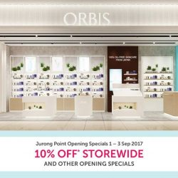 [ORBIS] Yes you got it, we're opening our next store at Jurong Point (JP2) 01-07 on 1 Sep 2017!