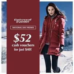 [Universal Traveller] Prep for your fall/winter travels with our in-store promotion this August!