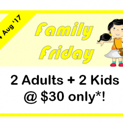 [eXplorerkid] Spend Fridays with your family & friends!