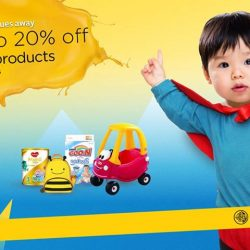 [Maybank ATM] From 24 to 28 August 2017, save more for your tiny tots with up to 20% off at Lazada's