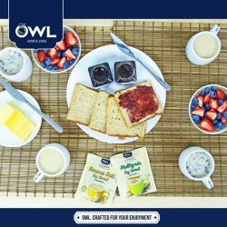 [Owl Café] Start 'Family day' right with your loved ones and a cup of OWL Nutrifield Soy Cereal, great for the whole