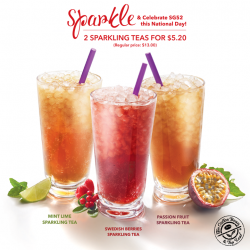 [The Coffee Bean & Tea Leaf® - Singapore] Sparkling on for 52 years!
