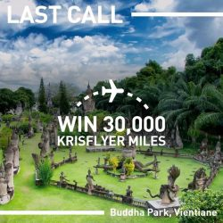 [UOB ATM] Your LAST CHANCE to score yourself 30,000 KrisFlyer miles for a free flight out to your next bucket list