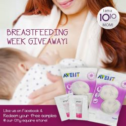 [10 10 Mother & Child Essentials] We're honouring breastfeeding mothers with a special giveaway!
