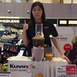 [Kuvings] Catch our sales coordinator live in action at Best Denki VivoCity Atrium Show.