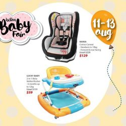 [Isetan] Check off your baby essential list at our Isetan Baby FairDon't miss out on our second Weekend Star