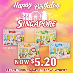 [Candylicious] Candylicious Merlion-shaped Chocolate is the perfect chocolate for your dessert table this National Day party.
