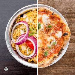 [foodpanda] East or West - would you want to have fluffy Briyani or cheesy pizza for dinner?