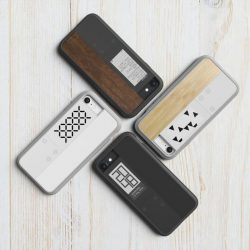 [Nübox] InkCase Ivy, a Shock Resistant iPhone 7 Case with an E-Ink Display now available in stores at special price