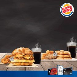 [Burger King Singapore] Enjoy 1-for-1 breakfast sets with your buddy, when you pay with your UOB Card on Apple Pay by