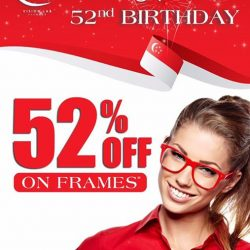 [Vision Lab] Vision Lab Eyewear is Celebrating the National day by giving away 52% discount on all selected Frame!