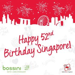 [Bossini Singapore] Happy Birthday Singapore!