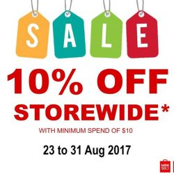 [Miniso] Good news, our month-end sale starts now!