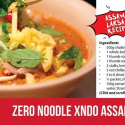 [Xndo] Salty, sweet, sour and sensational, assam laksa is a favourite for many!