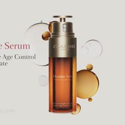 [Metro] Experience the NEW Double Serum by Clarins, our most powerful age control concentrate ever today.