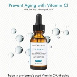 [ClearSK® Medi-Aesthetics] Trade in any of your Vitamin C/ Anti-aging serum bottle at our ClearSK outlets and receive a $20 Skin