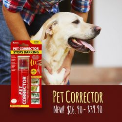 [Pet Lovers Centre Singapore] The pet corrector quickly and humanely breaks animals of unwanted barking behaviour.