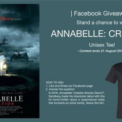 [Filmgarde Cineplex] Stand a chance to win Annabelle: Creation Movie Premiums!