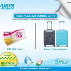 [DAIKIN] PlayLah Roadshow starts TODAY @ Singapore Expo Hall 5!