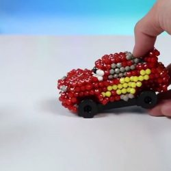 [Hamleys of London] Now you can build Lightning McQueen with Aquabeads!