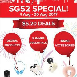 [Miniso] NATIONAL DAY SPECIALFrom now till 20 Aug 2017, shop selected sale items for only $5.