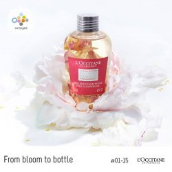 [Westgate Mall] From bloom to bottle, L'OCCITANE's peony's many-petalled beauty is captured in this infusion of pink peony