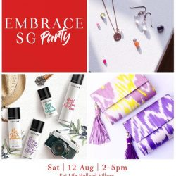 [Embrace Jewellery] What are your plans for Saturday?