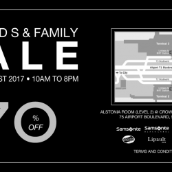 Samsonite: Friends & Family Sale 2017 with Up to 70% OFF Luggage