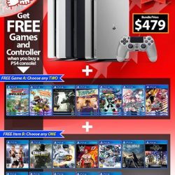 [GAME XTREME] National Day PS4 Slim Bundle【PROMO DURATION】 Now - 27/8/17【DETAILS】 It's Singapore's 52nd birthday, and we'