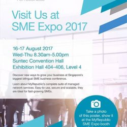 [Mr Shop/My Republic] We will be at this year's SME ICC & SME Expo 2017, from 16-17 August, Booth C13, Suntec Convention