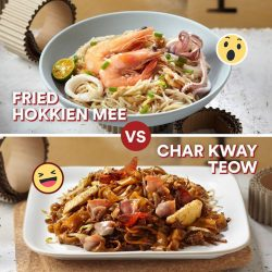 [Food Republic] LocalvoreShowdown If you were about to drop a tray that has a plate of Fried Hokkien Mee and a plate