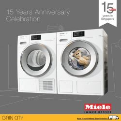 [Gain City] Miele is delighted to present a suite of exclusive rewards and special offers on selected home appliances from now till