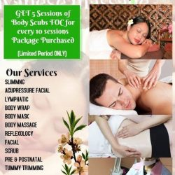 [Thomson Plaza] GRAND OPENING SPECIAL House of Traditional Javanese Massage Singapore Thomson Plaza 03-13Get 5 Sessions of Body Scrub FOC
