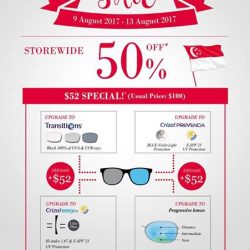 [Eyechamp Flagship] NDP 50% off Storewide Promotion @EyeChamp from 9-13 Aug.