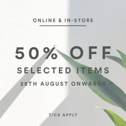 [MDSCollections] 50% Off on selected items | Starting today