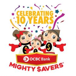 [OCBC ATM] To mark the 10th anniversary of the OCBC Mighty Savers programme, we went on a four-month tour around our