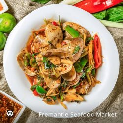 [foodpanda] Clams can be cooked in several ways, but the Singaporean way is to douse them in fragrant spices like sambal!