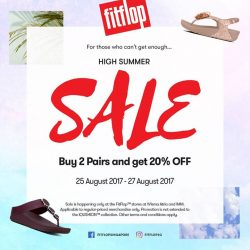 [FitFlop] TGIF - Here's a surprise for you this HIGH SUMMER!