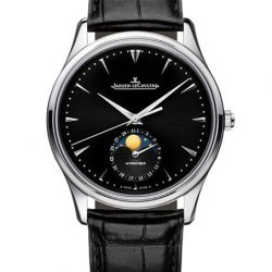 [Cortina Watch] Jeager LeCoultre Master Ultra Thin Perpetual with its elegant black dial and strap entices and intrigues.