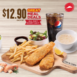 [Pizza Hut Singapore] Our Great Meal Deals are tasty and pocket-friendly all day, every day*!