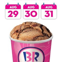[Baskin Robbins] We're celebrating our mega 31% Off for 3 days straight in this month of August!