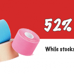 [Core Concepts - Physiotherapy Centre] Get 52% off our kinesiology tape, offer valid till 15th August!